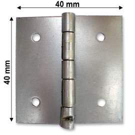 Nyers normál csuklópánt - 40 mm