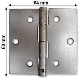 Nyers normál csuklópánt - 60 mm