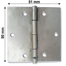 Nyers normál csuklópánt - 70 mm
