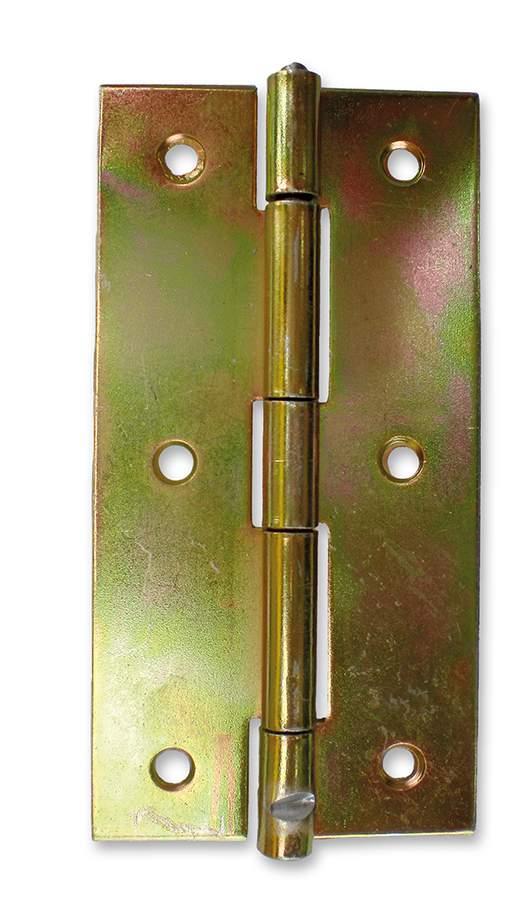 Horganyzott keskeny csuklópánt - 100 mm