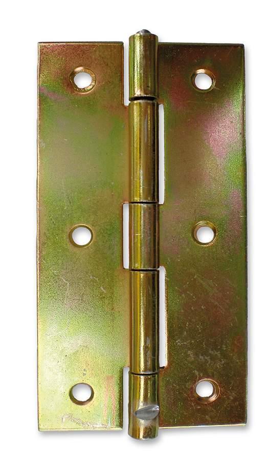 Horganyzott keskeny csuklópánt - 120 mm