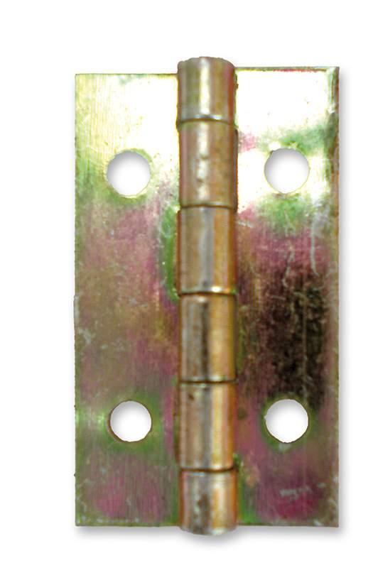 Horganyzott normál csuklópánt - 22 mm