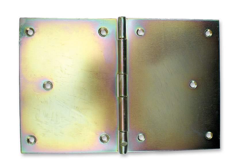 Horganyzott széles csuklópánt - 120 mm